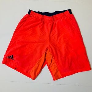 Adidas Neon Red Tennis Shorts Size M